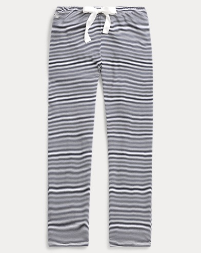 Stripe Cotton-Modal Sleep Pant