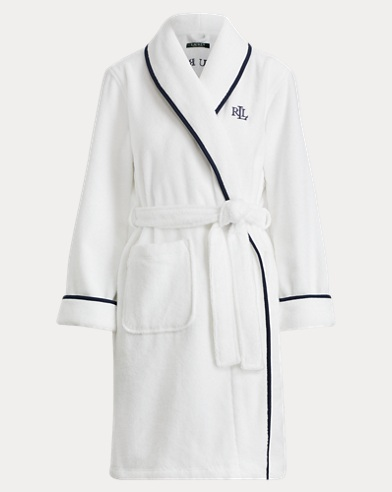 Cotton Terry Shawl Collar Robe