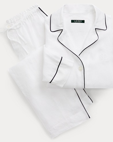 Linen Pajama Set
