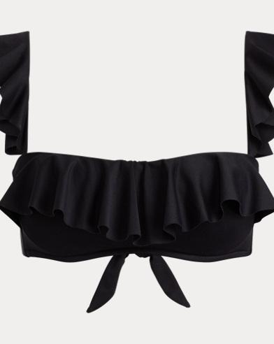 Ruffled Underwire Bikini Top