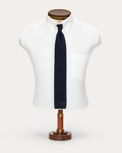 Handmade Cotton-Linen Tie