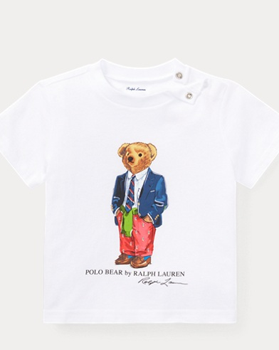 Preppy Bear Cotton T-Shirt
