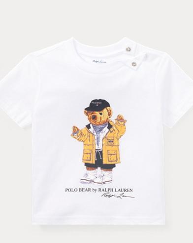 Raincoat Bear Cotton T-Shirt