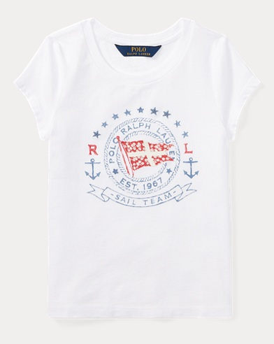 Cotton Jersey Graphic T-Shirt