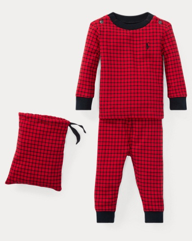 Buffalo Check Cotton Sleep Set