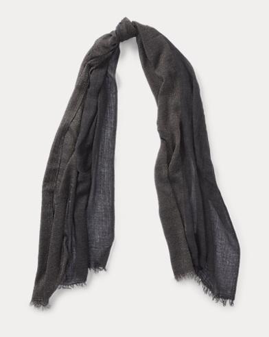 Lightweight Metallic Scarf