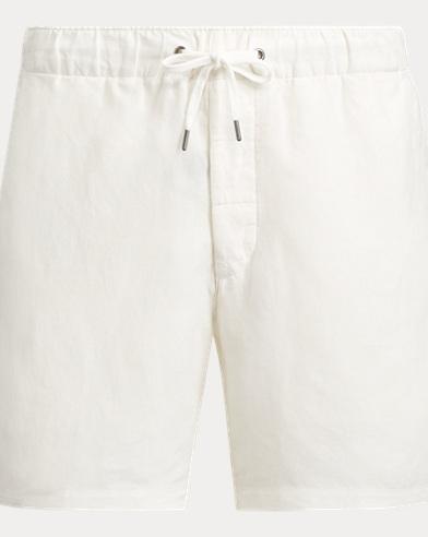 Classic Fit Linen-Silk Short