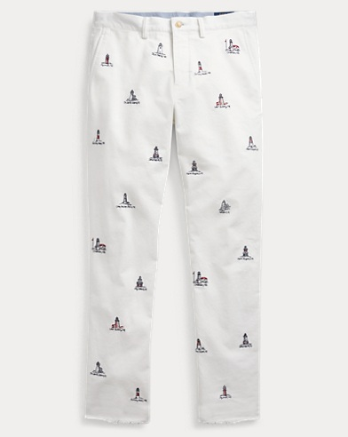 Stretch Tailored Slim Fit Pant