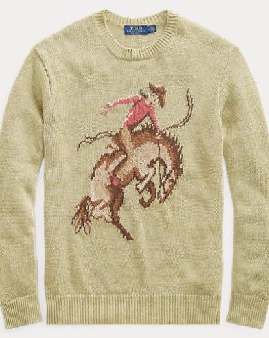 Cowboy Linen-Silk Sweater