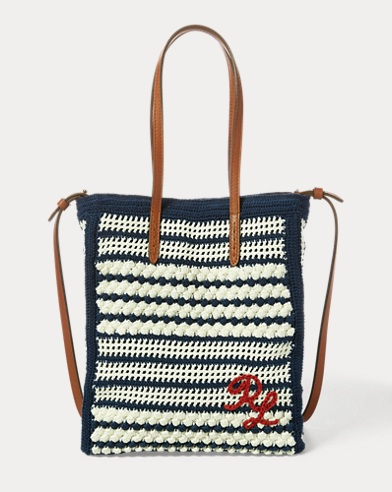 Crocheted Mini Modern Tote