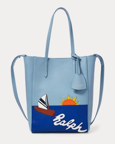 Sailboat Mini Modern Tote Bag