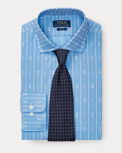 Slim Pineapple-Stripe Shirt
