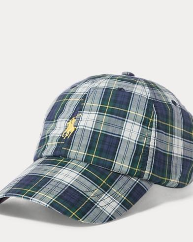 Plaid Cotton Cap