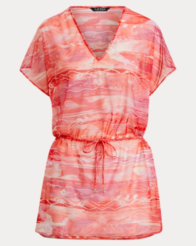 Ikat Tunic Cover-Up
