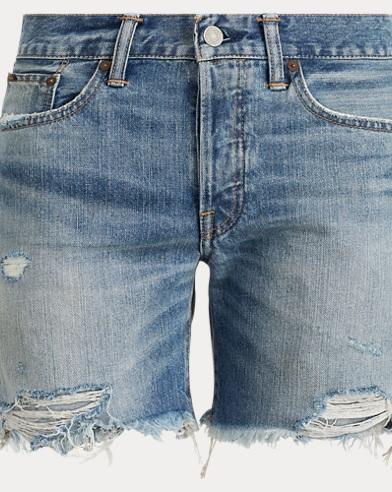 Cutoff Cotton Short