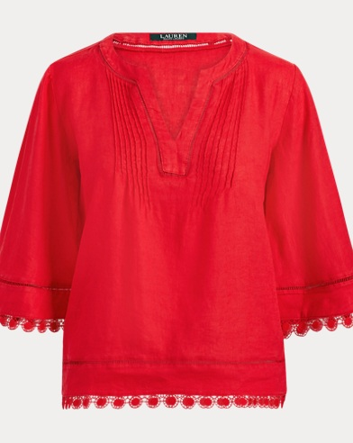 Medallion Lace Top