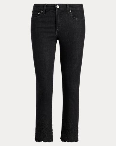 Striped Skinny Jean