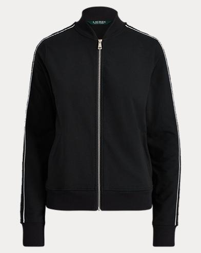 Terry Bomber Jacket. Lauren