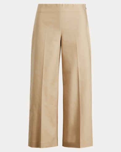 Stretch Wide-Leg Pant
