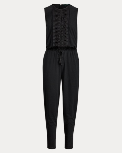 Straight-Leg Jumpsuit