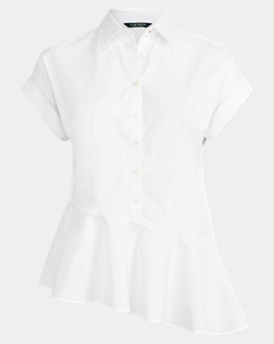 Asymmetrical Cotton Shirt