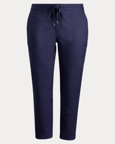 Linen Straight Pant