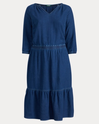 Linen-Cotton Dress