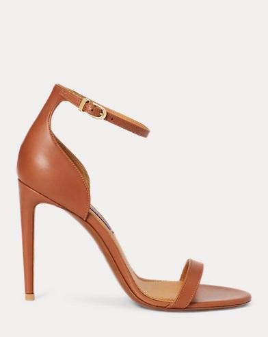 Sonika Nappa Leather Sandal