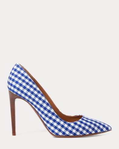 Celia Gingham Pump