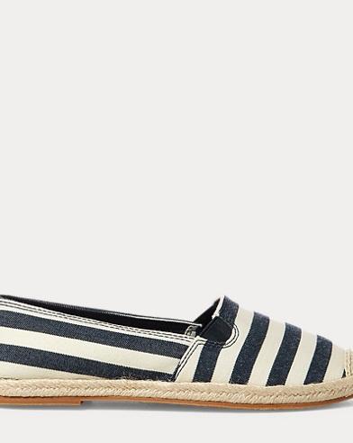 Beakon Striped Espadrille