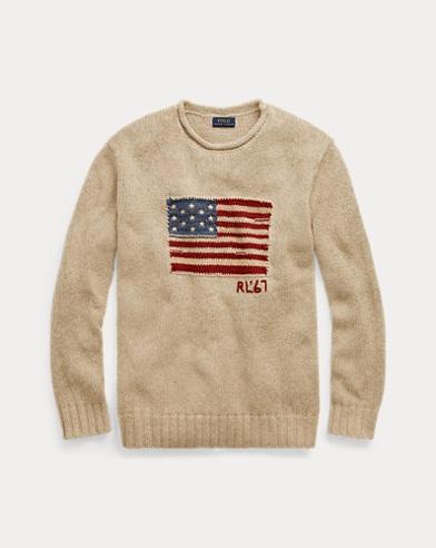 Flag Rollneck Sweater