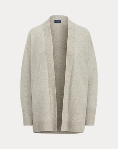 Wool Open-Front Sweater