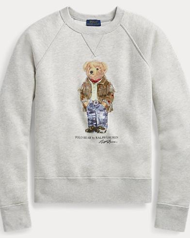 Polo Bear Fleece Pullover