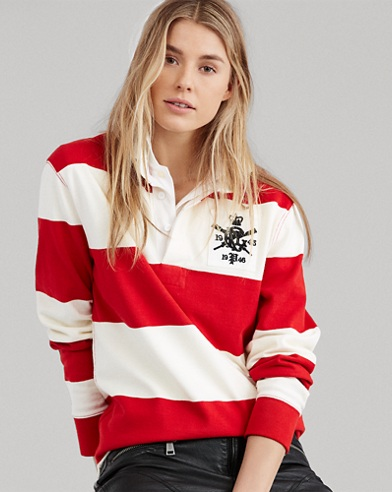 Monogram Cotton Rugby Shirt