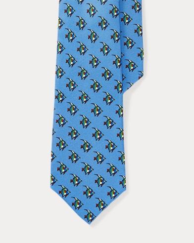 Tropical Fish Silk Tie