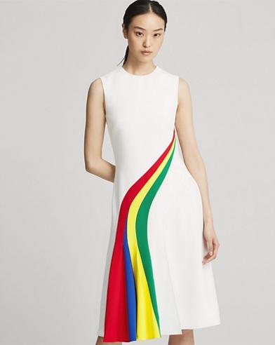 Celesse Crepe Cady Dress