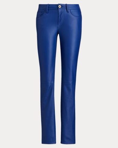 400 Leather Skinny Jean