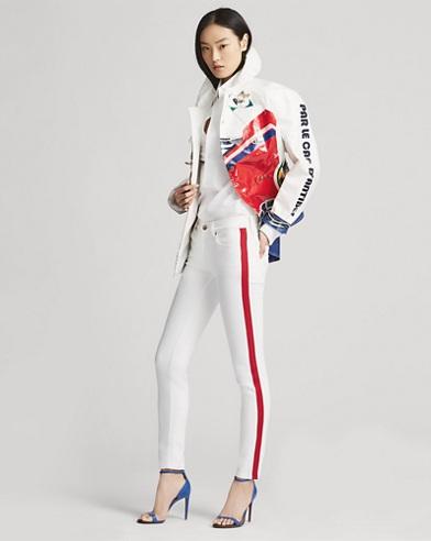400 Striped Skinny Jean