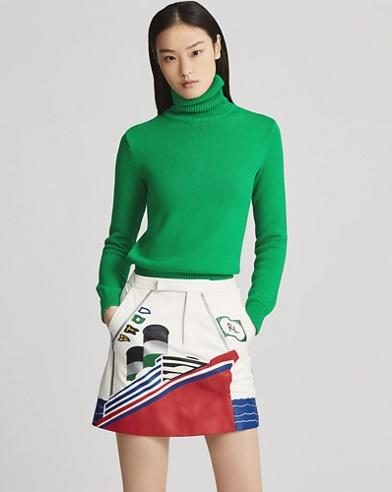 Shailene Leather Skirt