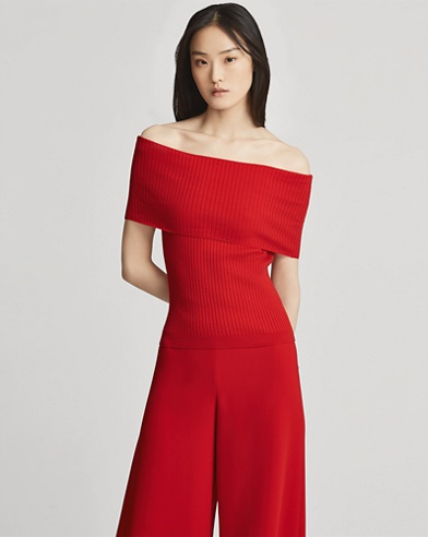 Cotton Off-the-Shoulder Top