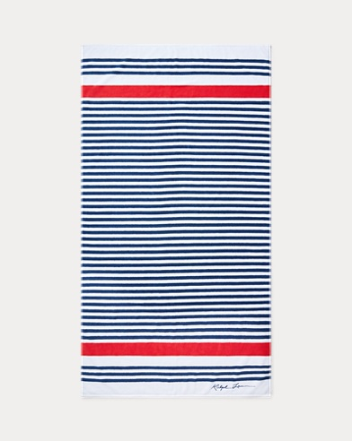 Healy Striped Beach Towel