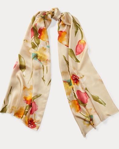 Floral Scarf