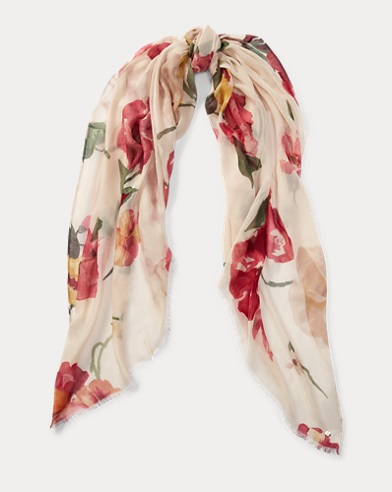 Floral Modal Scarf