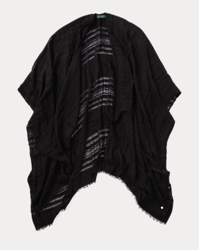 Sheer Blanket Scarf