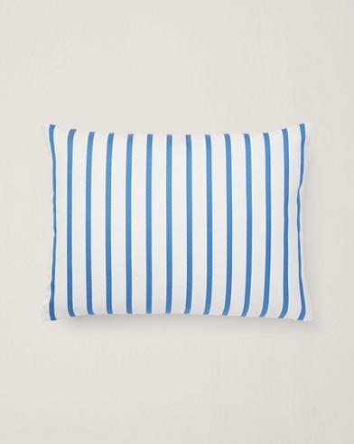 Shirting-Stripe Throw Pillow