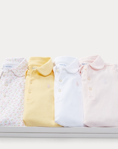 Cotton Polo 4-Piece Gift Set