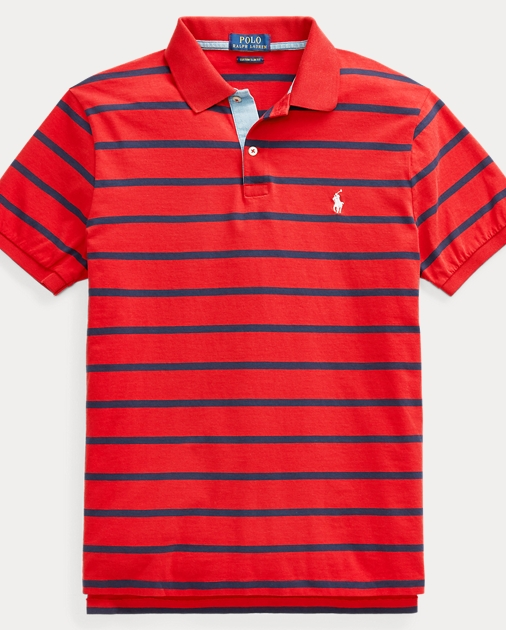Popular Classic Fit Jersey Polo Shirt RQ85