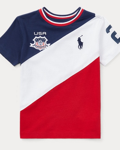 USA Cotton Jersey T-Shirt