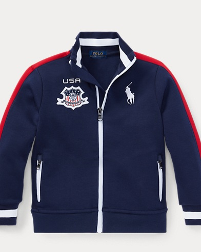 USA Double-Knit Track Jacket