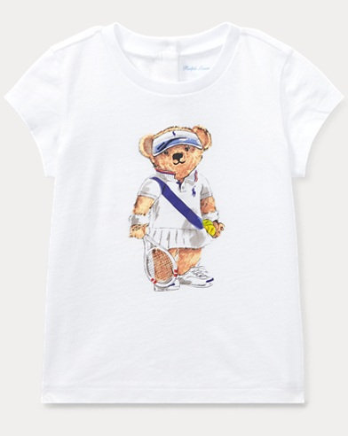 Tennis Bear Cotton T-Shirt